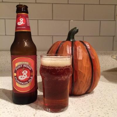 pumpkin beer review
